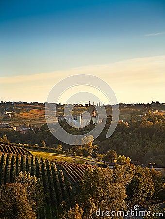 Costigliole d Asti (Piedmont, Italy)