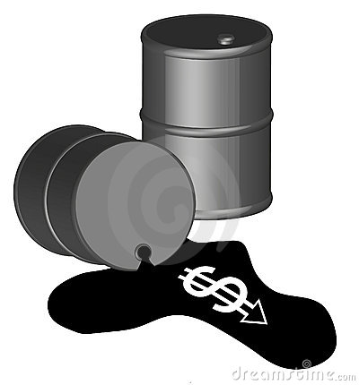 Costly oil spill