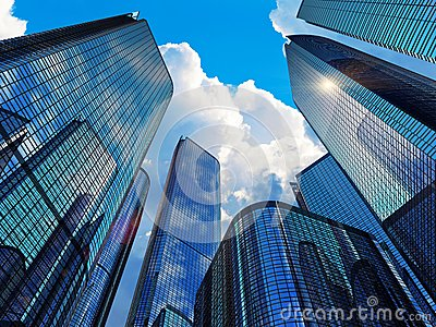 Costruzioni moderne di affari