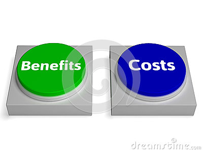 Costs Benefits Buttons Shows Cost Benefit Analysis Stock Photos ...: dreamstime.com/stock-photos-costs-benefits-buttons-shows-cost...