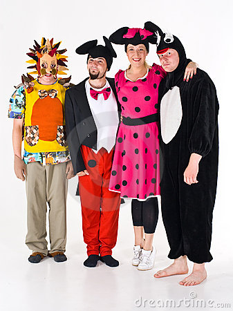 Costumed Adults for Theatre