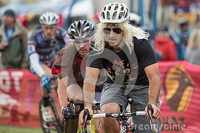 Costumed Bicycle Racer - Paul LaCava Stock Image - Image: 27406731