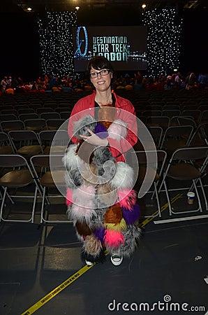 Costumed People At Destination Star Trek In  London Docklands 20 Editorial Photo