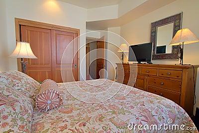 Cosy modern bedroom