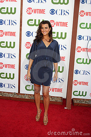 Cote de Pablo Editorial Stock Photo