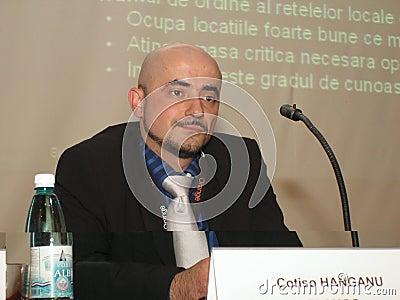 Cotiso Hanganu Editorial Stock Image