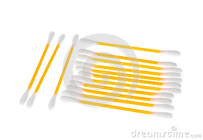 Cotonetes de algodão