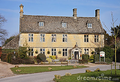 Cotswold Stone Village Houses