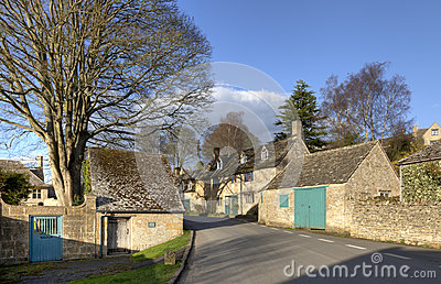 Cotswold village in Summer