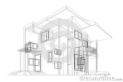 Cottage blueprint