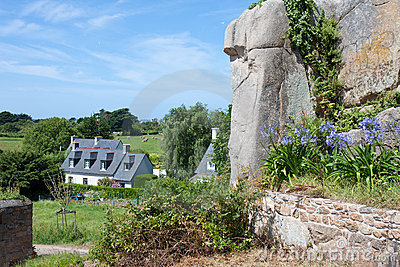 Cottage in Brittany, France