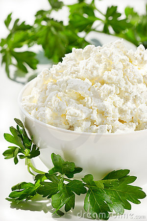 Free Cottage Cheese Stock Image - 19587841