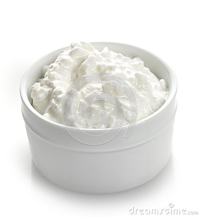 Free Cottage Cheese Royalty Free Stock Photo - 27660215
