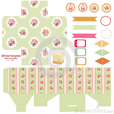 Free Cottage Chic Party Set Stock Image - 40926291