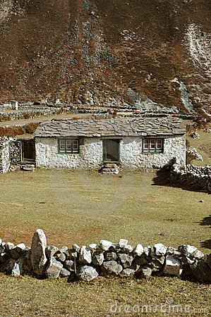 Cottage in the Himalayas