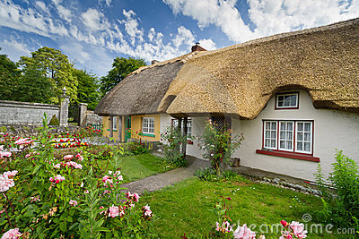 Cottage Houses Royalty Free Stock Photos - Image: 20104238