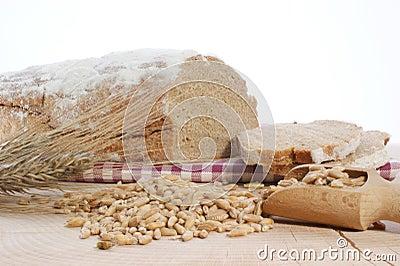 Cottage loaf and cereal