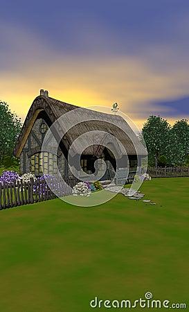 The Cottage Portrait View