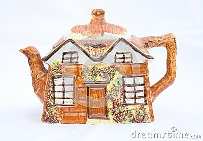 Cottage style teapot.