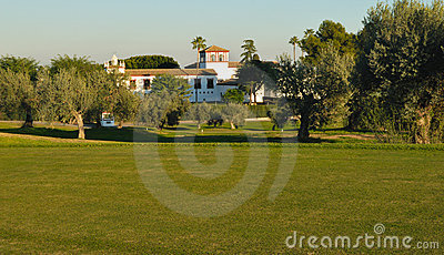 Cottage sul terreno da golf