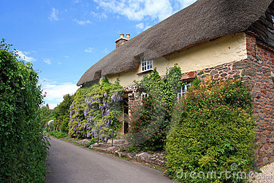 Cottages in Bossington on Exmoor
