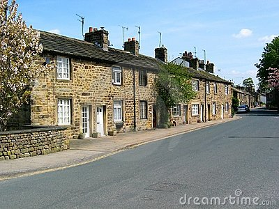Cottages in Embsay, North Yorkshire