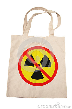 Cotton bag for no nuclear
