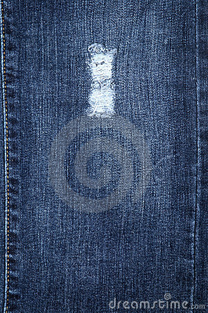 Cotton blue jeans texture