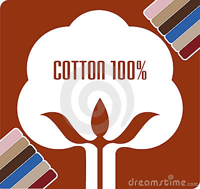 Cotton boll logo