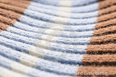 Cotton fabric texture