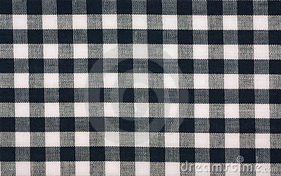 Cotton gingham check