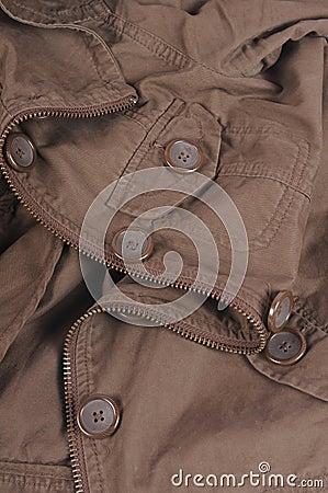 Cotton jacket background