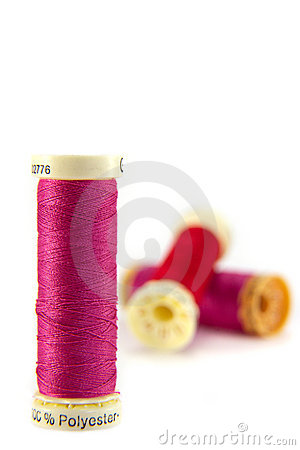 Free Cotton Reels. Stock Photography - 4565422