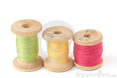 Cotton thread reels