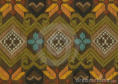 Cotton weave background