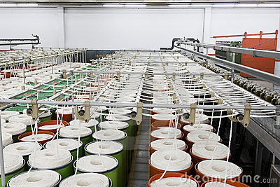 Cotton yarn manufacturing