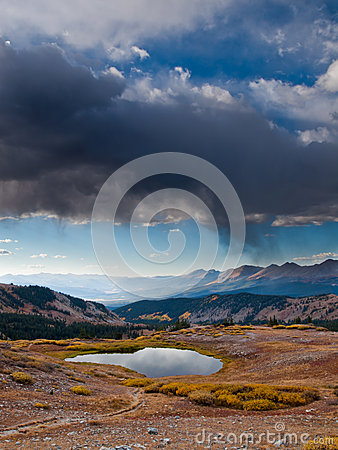 Free Cottonwood Pass Royalty Free Stock Photography - 33484267