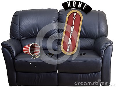 Couch cinema home