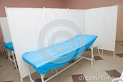 Couch der ärztlichen Behandlung