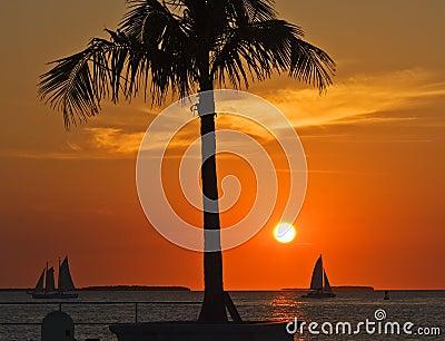 Coucher du soleil de Key West