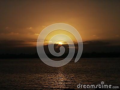 Coucher du soleil de San Diego