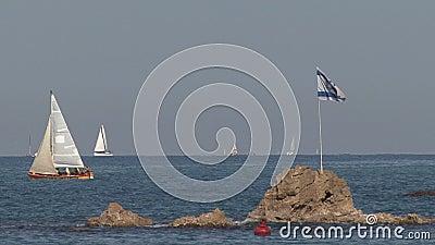 Couchette Israël de yacht clips vidéos