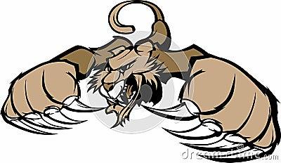Cougar / Puma Mascot Logo