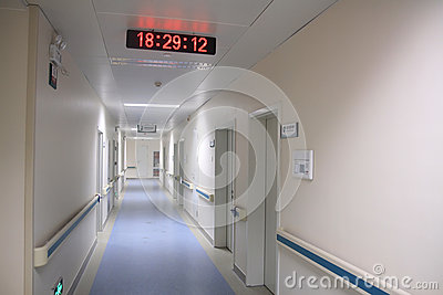 Couloir d hôpital