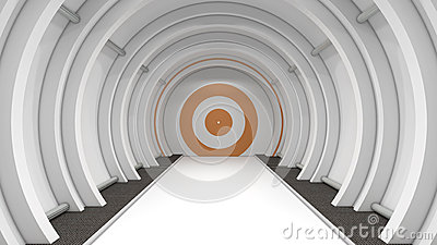 Couloir futuriste