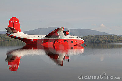 Coulson Flying Tankers Editorial Stock Image