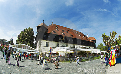 Council of Constance -  historical building Editorial Stock Photo
