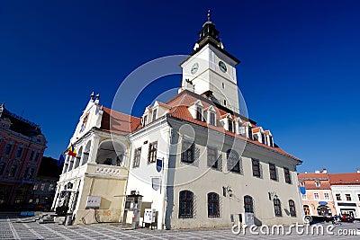 Council Square of Brasov, in Transylvania, Romania