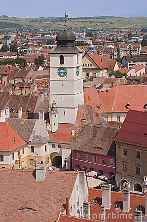 Council Tower-Sibiu,Romania