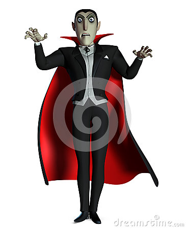 how to draw count dracula